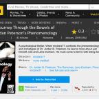 Video: A Journey Through the Bowels of Jordan Peterson's Phenomenology