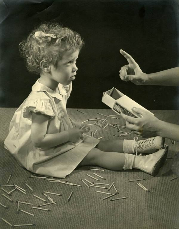 Children Shouldn't Play With Matches