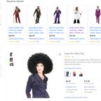 Pimp Costumes & Afro Wigs